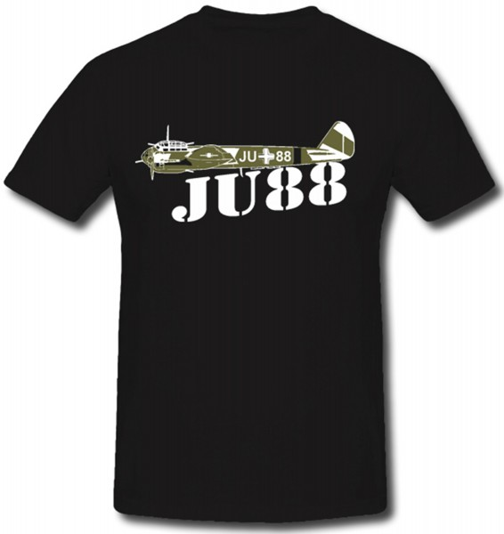 JU 88 Luftwaffe Stuka Sturzkampfbomber - T Shirt #1012