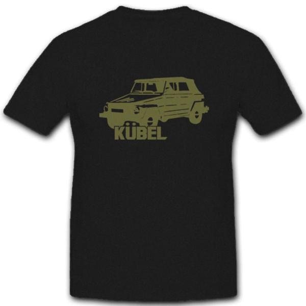 Kübel Typ 181 Bundeswehr Fahrzeug Wh Armee Bw Militär Pkw - T Shirt #4950