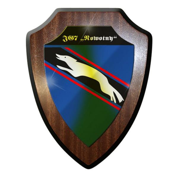 Wappenschild / Wandschild / Wappen - Jagdgeschwader JG 7 Nowotny Me 262 #8406