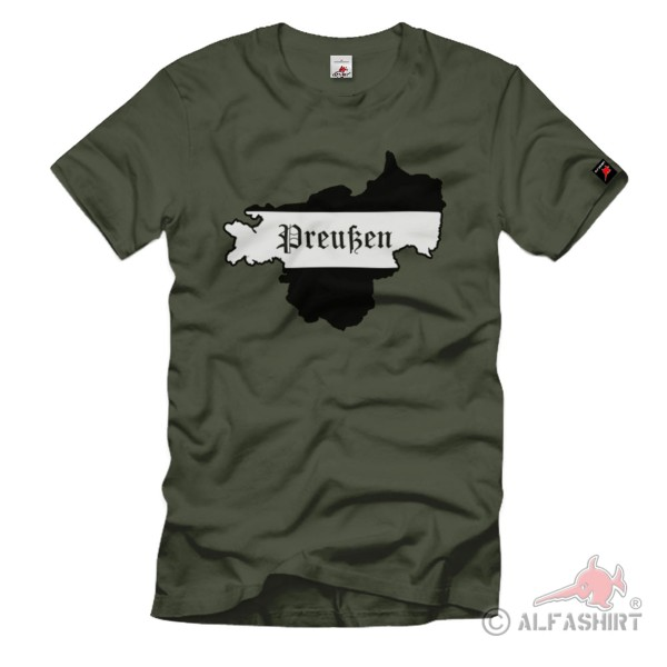 Prussia In Germany Weimar Republic Free State - T Shirt # 1389