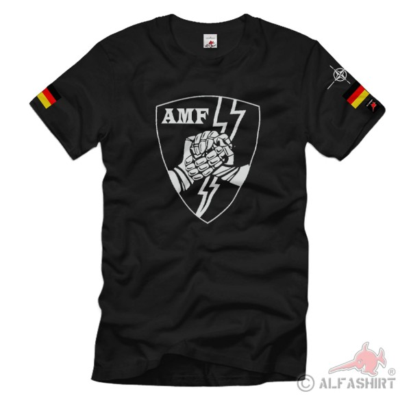 AMF NATO Germany Allied Command Europe Mobile Forces ACE Abzeichen T-Shirt#36201