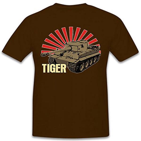 TIGER Tank Wh Legend Wk Main Battle Tank VI Germany - T Shirt # 11202