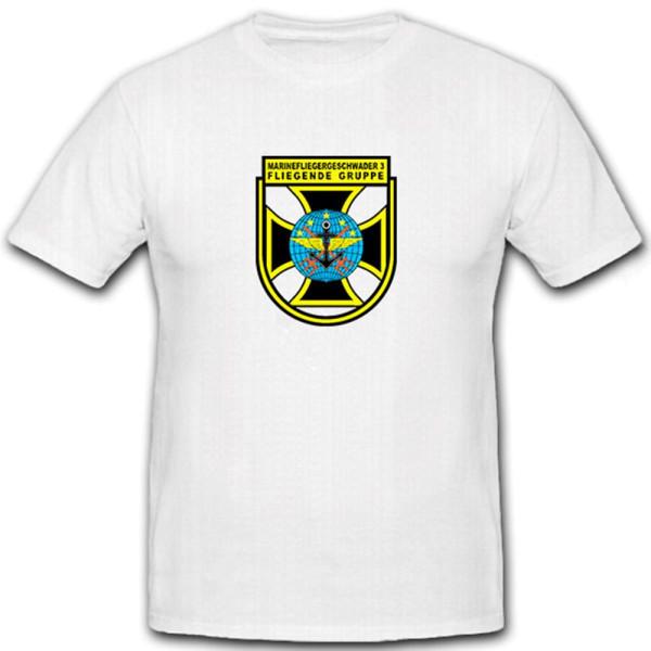 MFG 3 Fliegende Gruppe Marinefliegergeschwader 3 Bundeswehr - T Shirt #6790