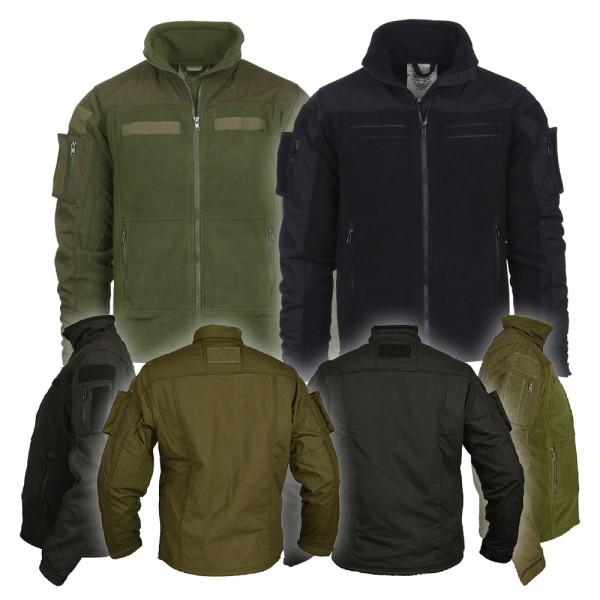 Sample package Combat fleece Vest fleece jacket Bundeswehr Army m-4xl # 35717