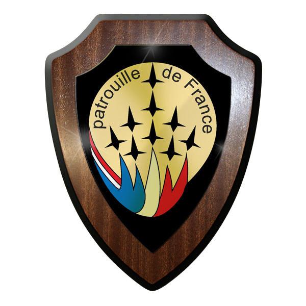 Wappenschild Patrouille de France Kunstflugstaffel französische Luftwaffe #11622