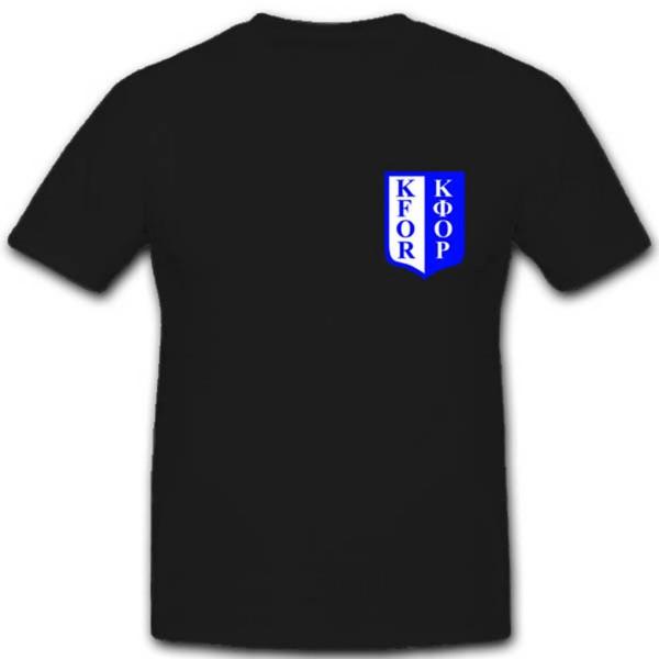 Kfor Armee Militär Bundeswehr Einheit Albanien Kosovo Krieg T Shirt #1920