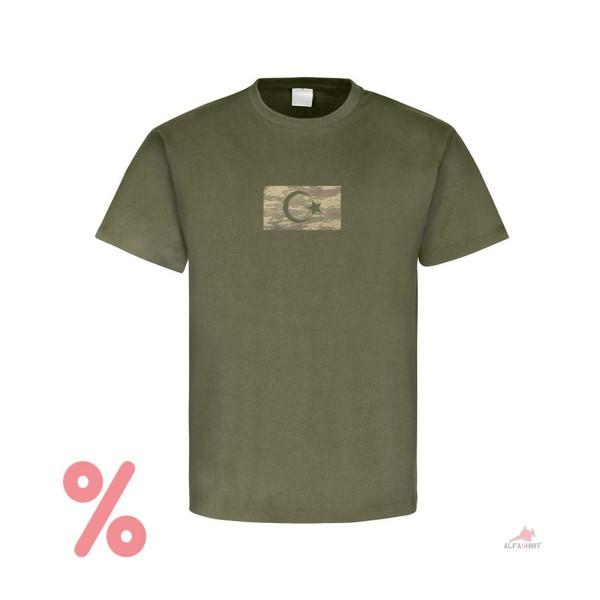 SALE Shirt Türkei Military Flaggen Soldaten Wappen Halbmond Stern T-Shirt #R352