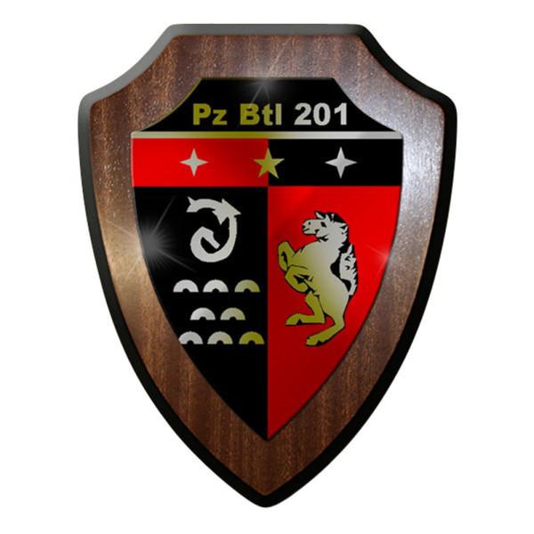 Wappenschild / Wandschild / Wappen - Panzerbataillon 201 PzBtl Bundeswehr #8351