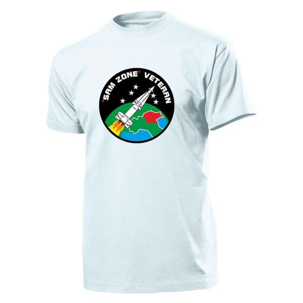 Sam Zone Veteran Militär Nuklear Atomare Waffe Atomwaffe Wappen - T Shirt #8556