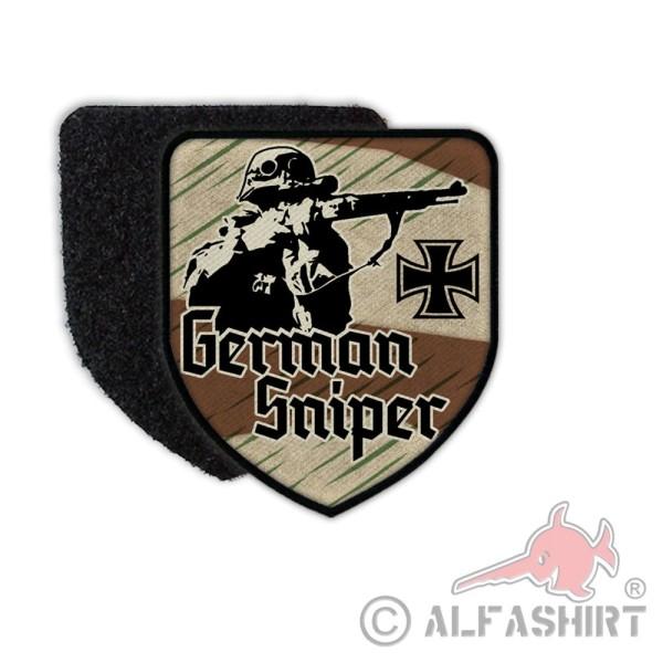 Patch German Sniper Scharfschütze Gewehr 98K Karabiner Splittertarn #36377